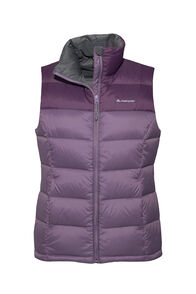 Macpac Halo Down Vest — Women's, Vintage Violet/Blackberry Wine, hi-res