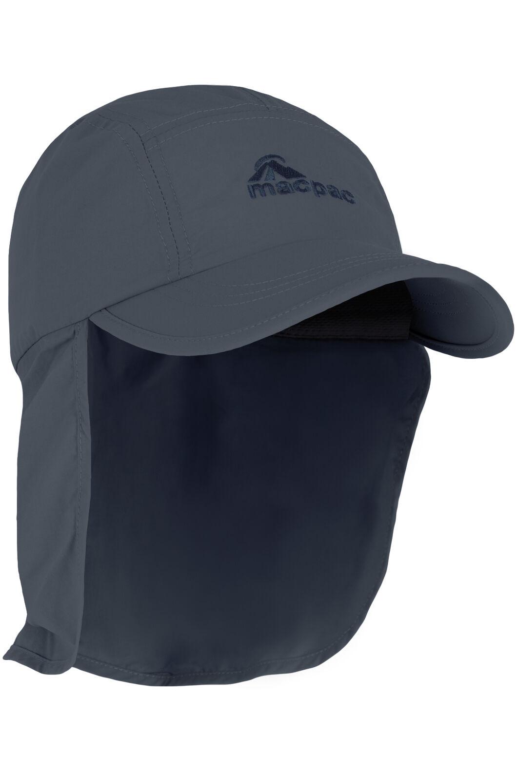 Macpac Mini Legionnaire Hat Kids', Midnight Navy, hi-res