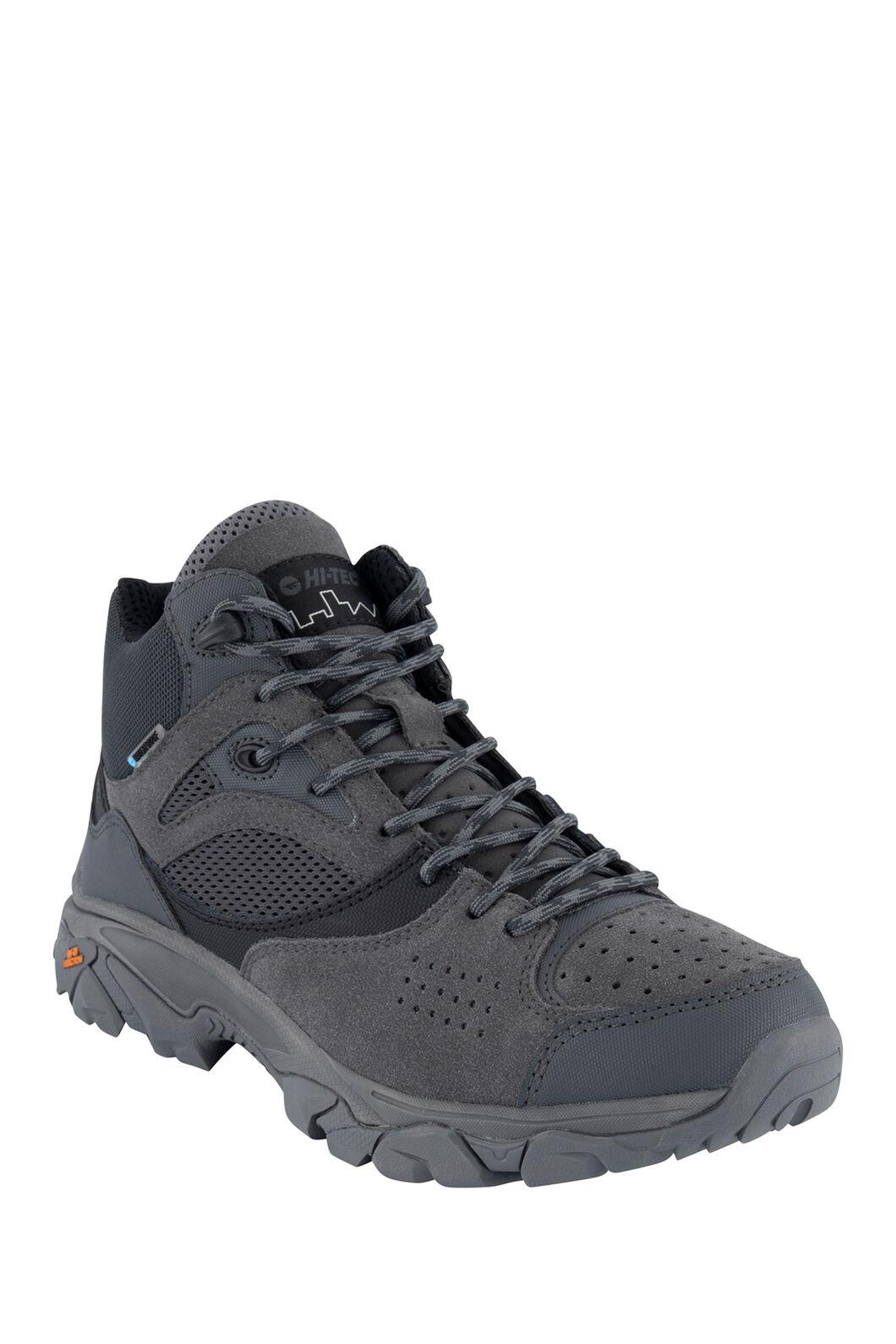 Hi-Tec Nouveau Traction WP Hiking Boots — Men's, Black/Charcoal, hi-res