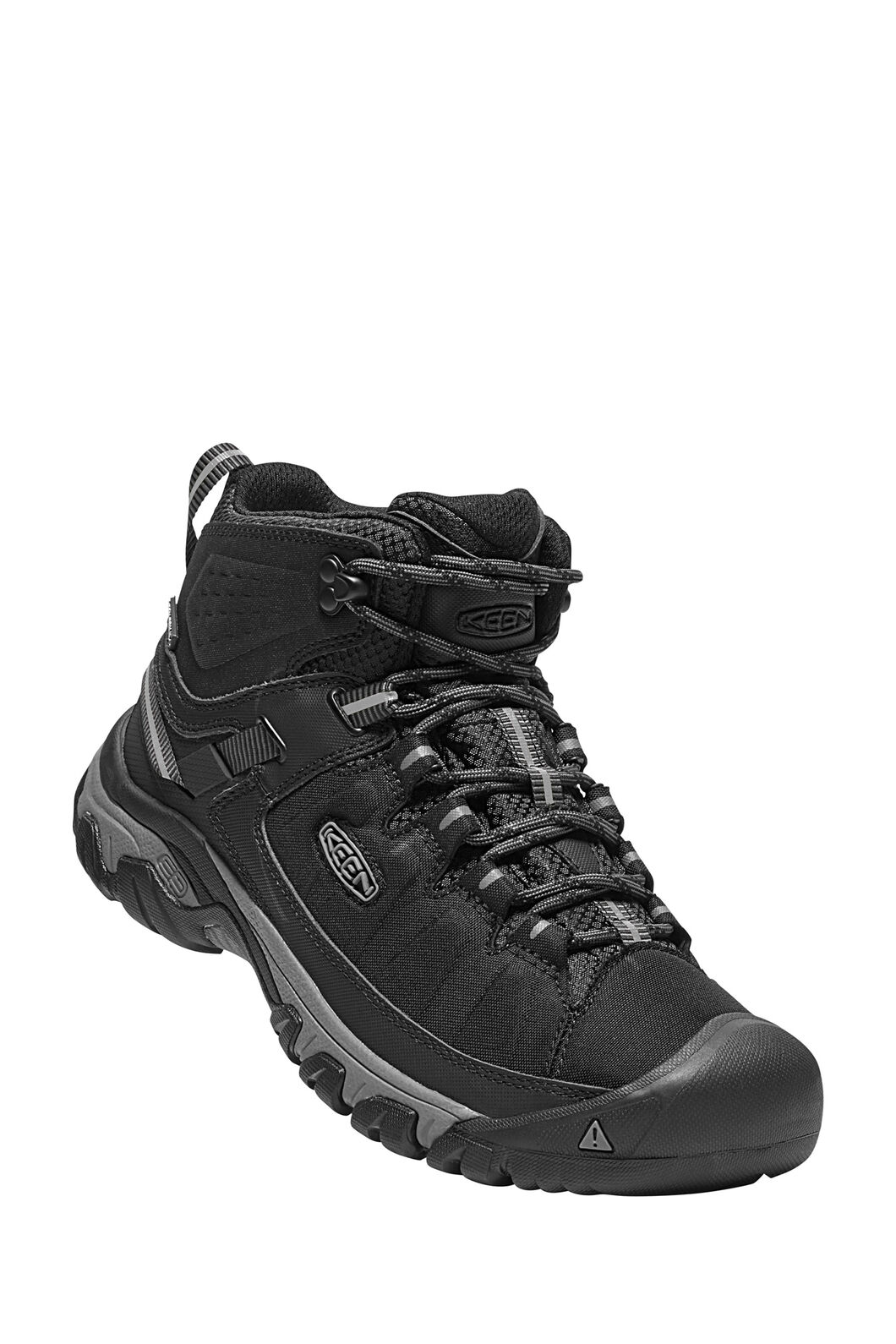 Keen Targhee EXP Mid WP Boots — Men's, Black/Steel Grey, hi-res