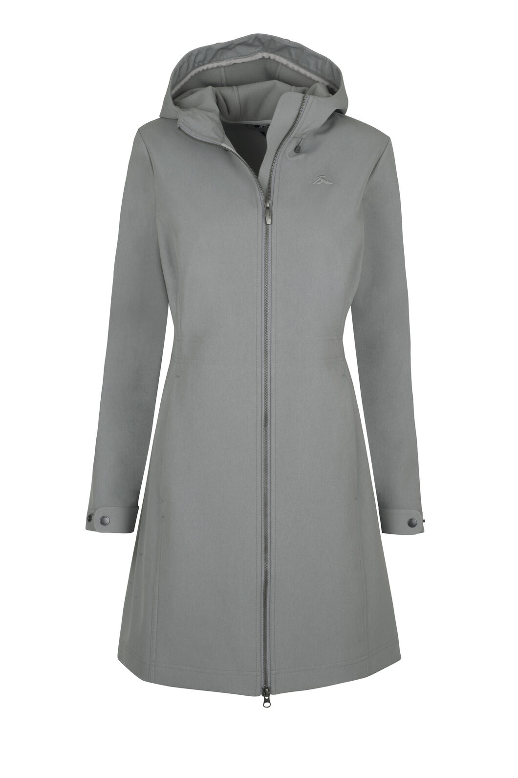 Macpac Chord Softshell Hooded Coat — Women's, Monument, hi-res