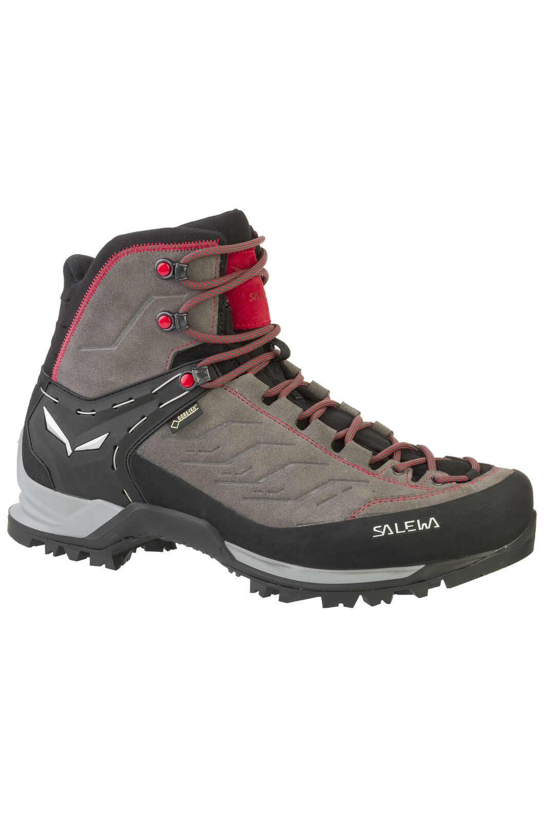 Salewa Mountain Trainer Mid GTX - Men's, Charcoal Papavero, hi-res