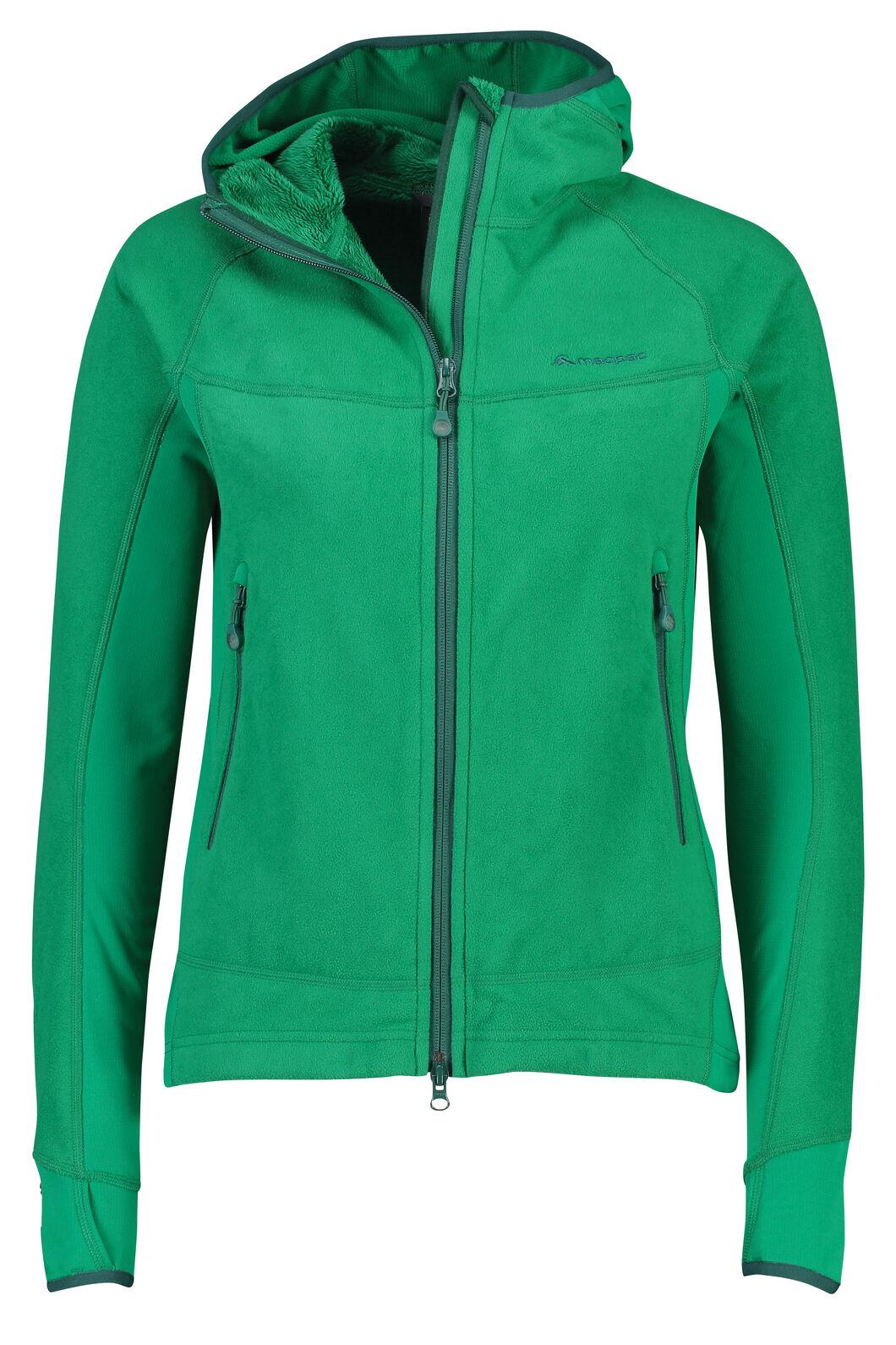 Mountain Hooded Pontetorto® Fleece Jacket - Women's, Ultramarine, hi-res