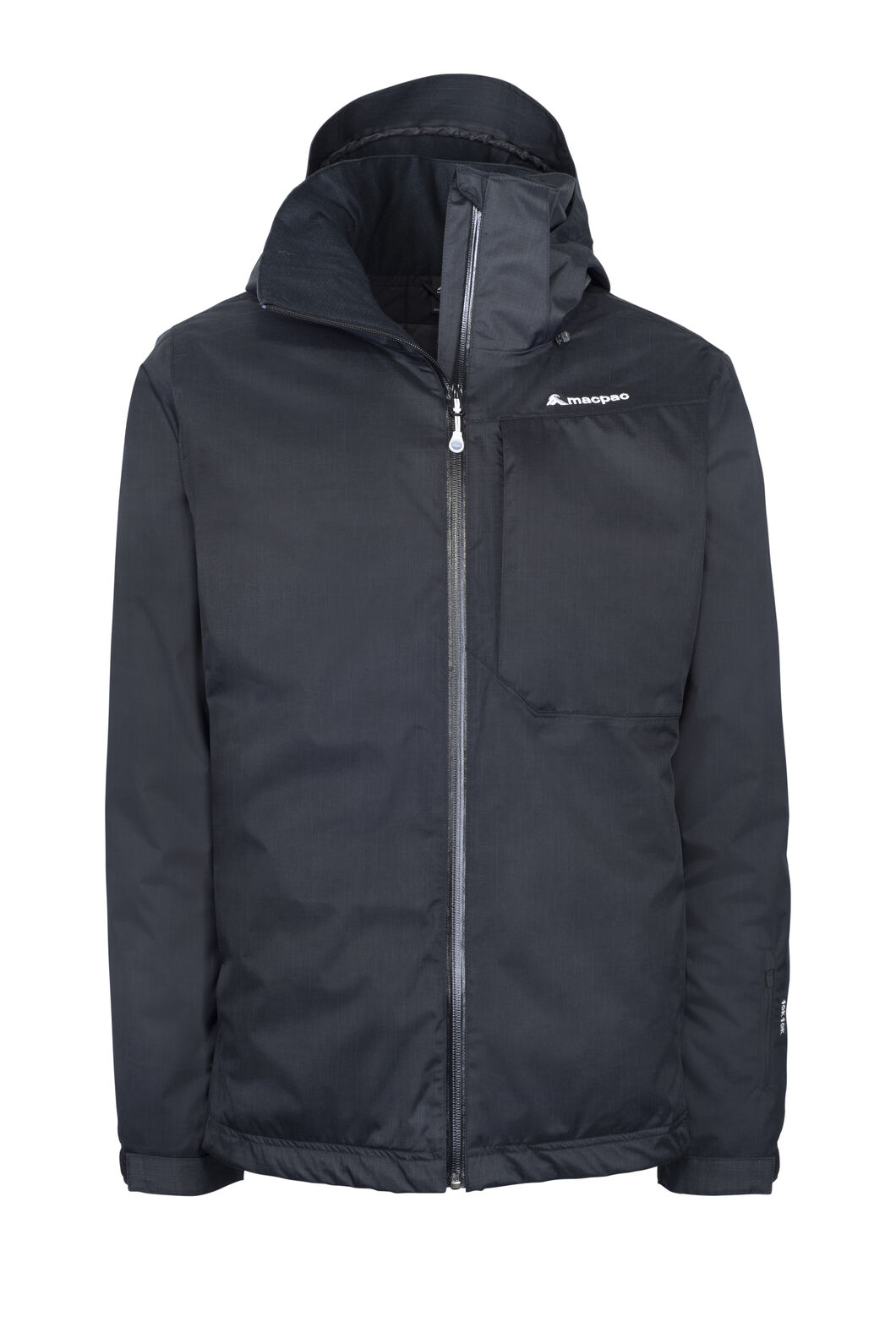 Macpac Powder Reflex™ Ski Jacket — Men's, Black, hi-res