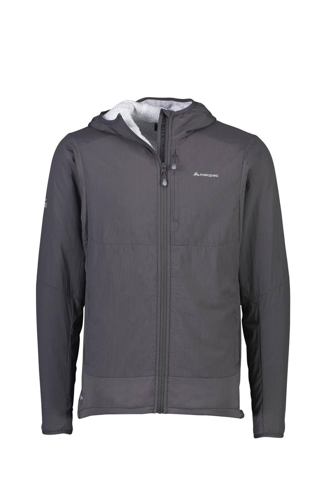 Macpac Pisa Polartec® Hooded Jacket - Men's, Phantom, hi-res