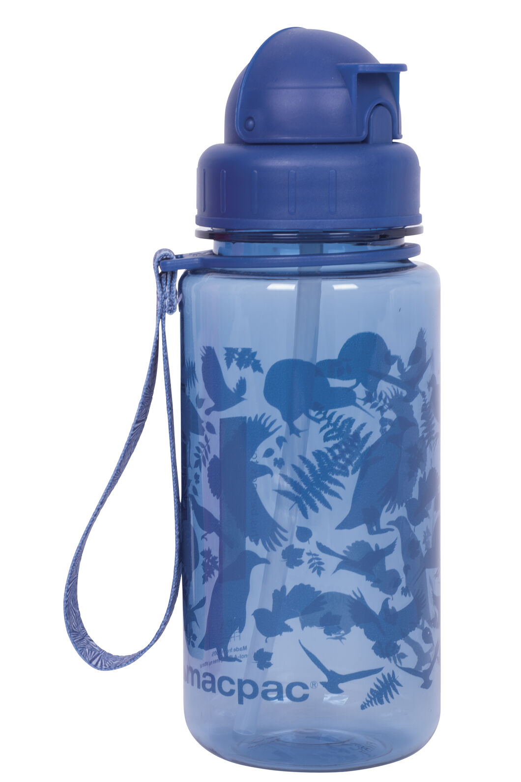 Macpac Kids' Drink Bottle — 400 ml, Bluebird, hi-res