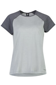 Macpac Take a Hike Short Sleeve Top - Women's, Pearl, hi-res