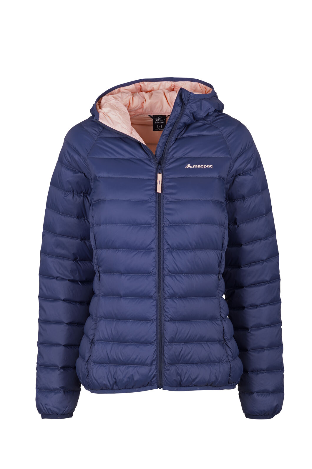Macpac Uber Light Hooded Jacket - Women's, Mood Indigo, hi-res