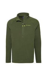 Macpac Tui Polartec® Micro Fleece® Pullover — Men's, Chive, hi-res