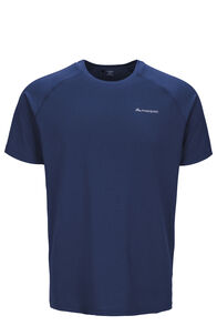 Macpac Eyre Short Sleeve Tee — Men's, Blueprint, hi-res