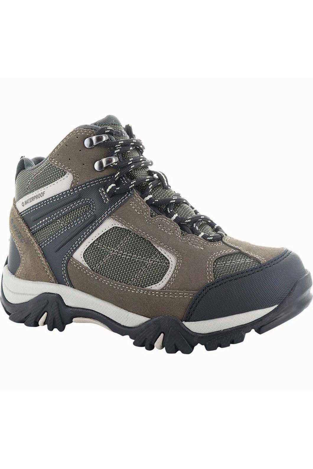 Hi-Tec Kids' Altitude Lite Hiking Boot, DarkTaupe/OliveNight/WarmGrey, hi-res