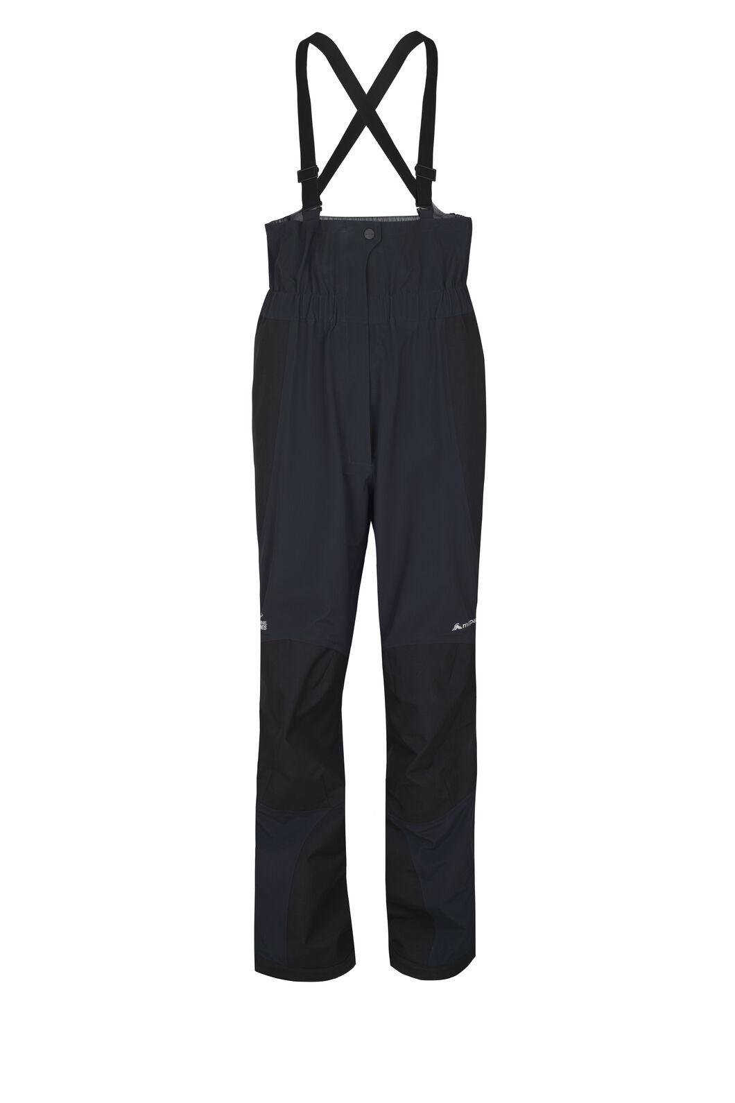 Macpac Barrier Bib Pertex® Rain Pants — Men's, Black, hi-res