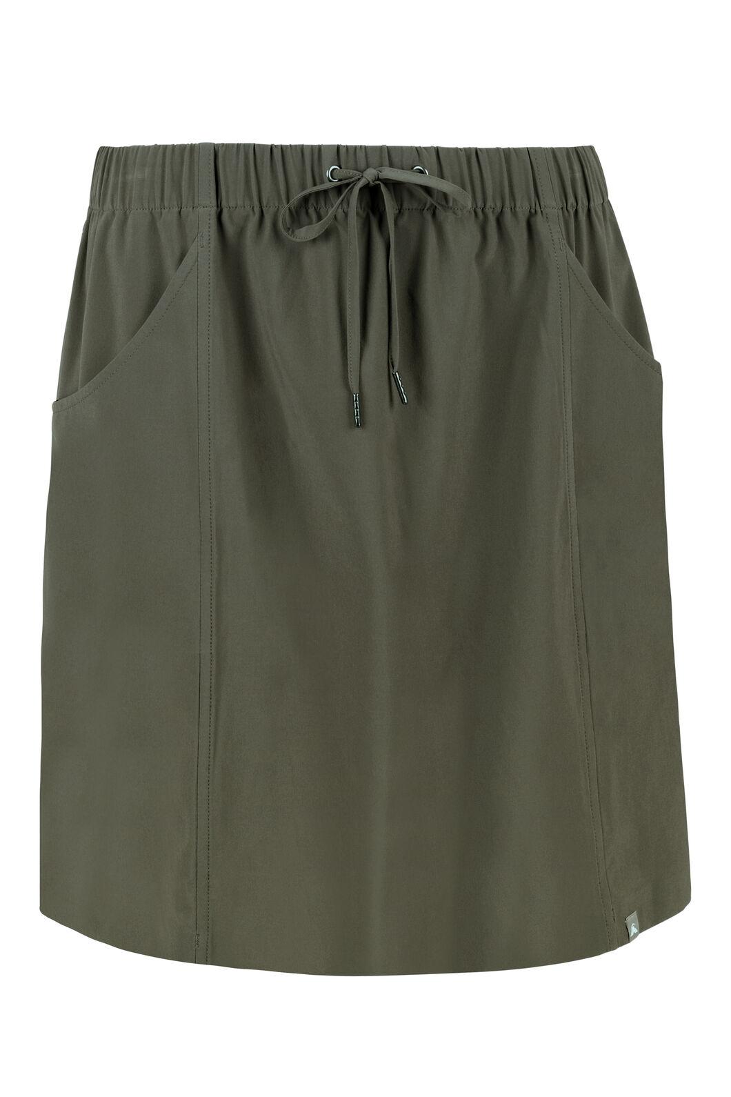 Macpac Mica Skirt - Women's, Deep Olive, hi-res