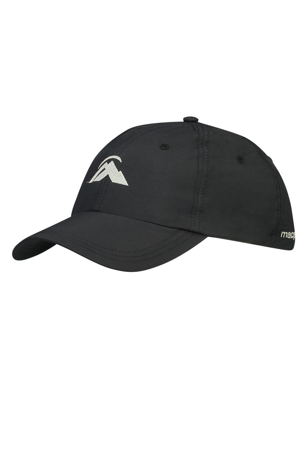 Macpac Hiker Cap, Black, hi-res