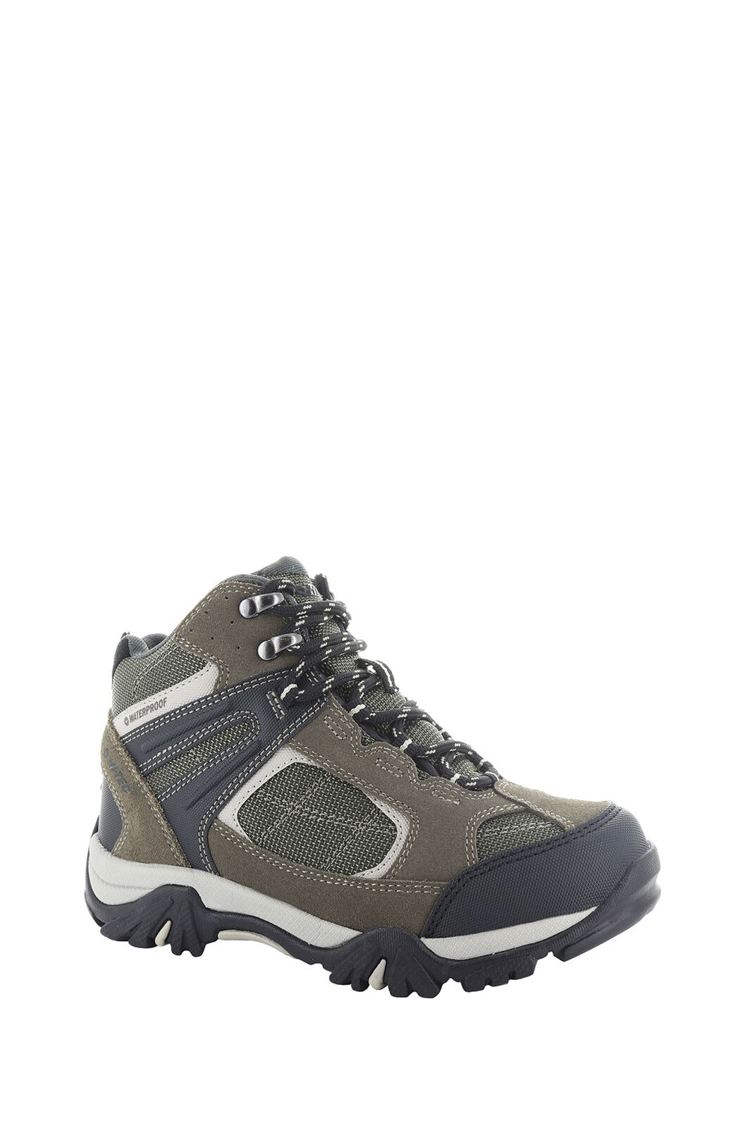 Hi-Tec Altitude VI Lite WP Boots — Kids', DarkTaupe/OliveNight/WarmGrey, hi-res