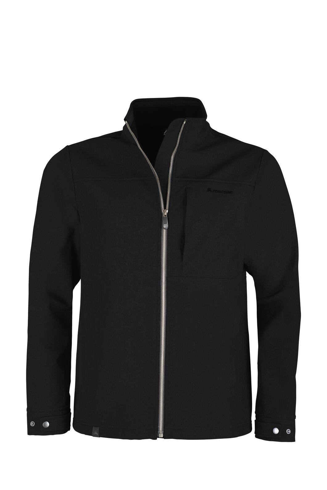 Macpac Chord Softshell Jacket - Men's, Black, hi-res