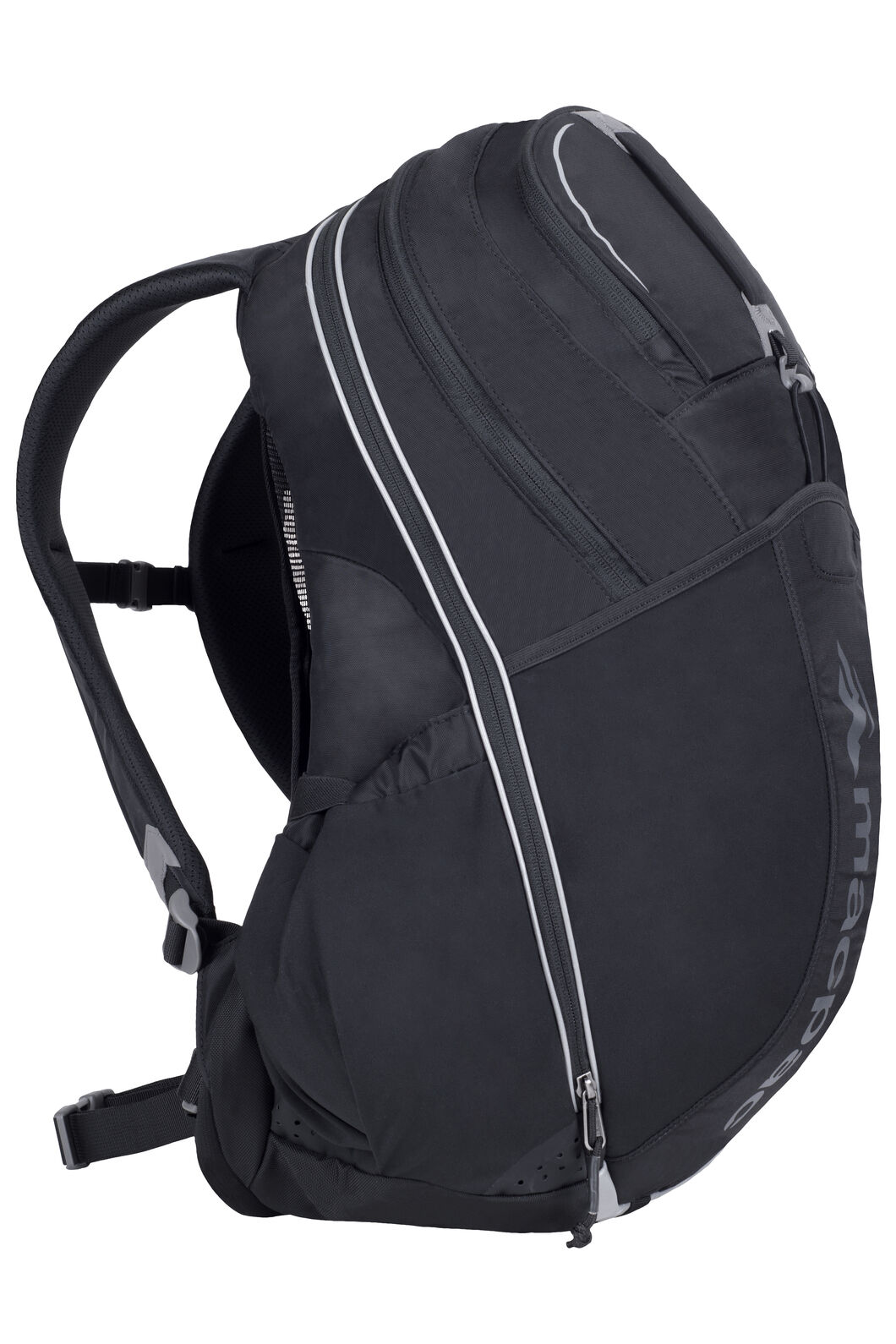 Macpac Rapaki Vented 30 L Day Pack, Black, hi-res