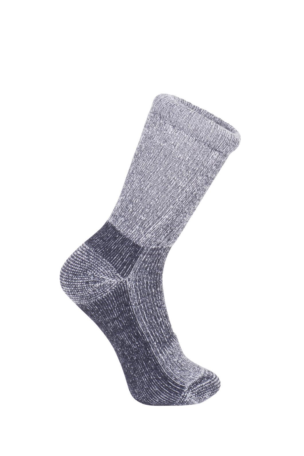 Macpac Winter Hiker Socks - Kids', Black, hi-res