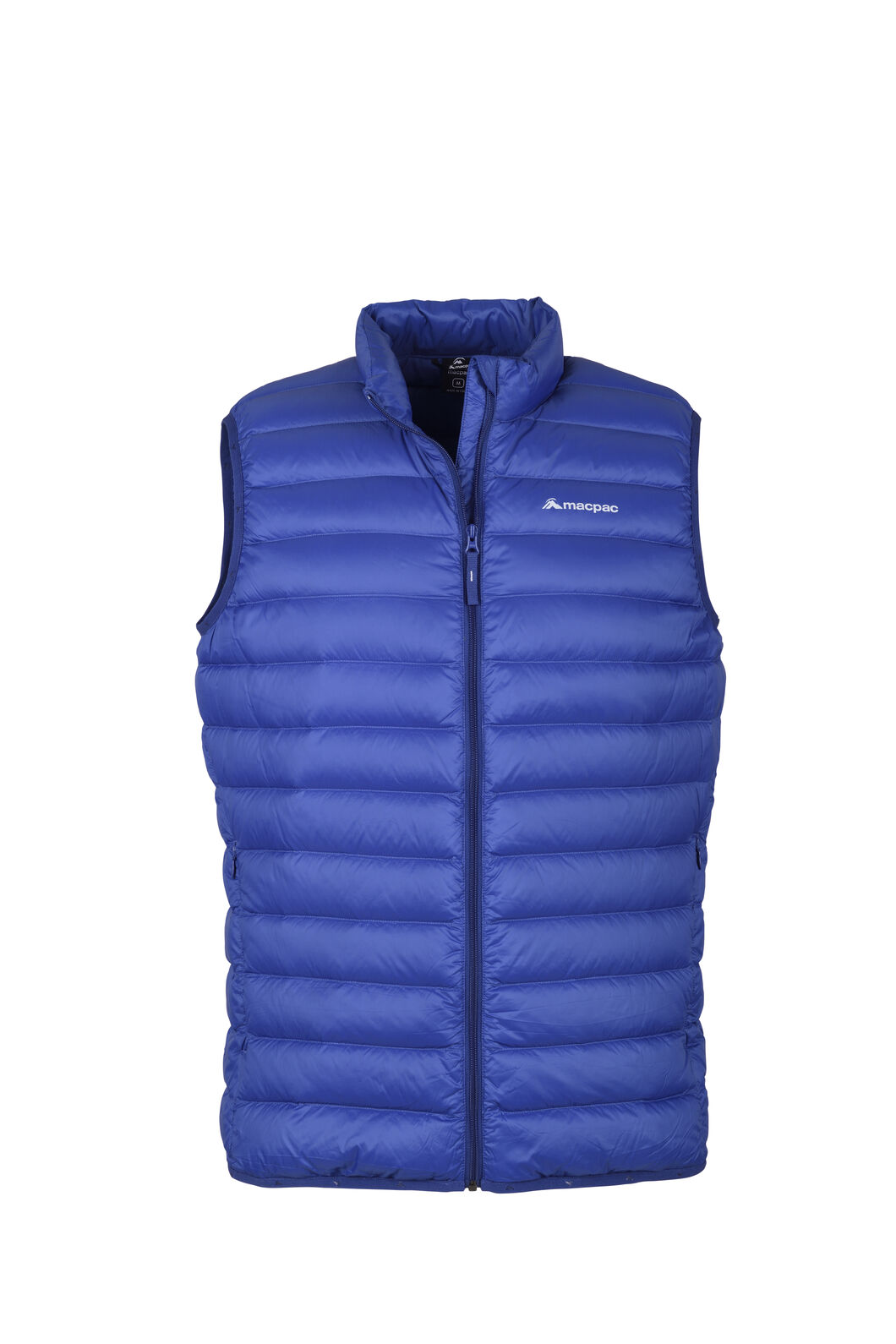 Macpac Uber Light Down Vest - Men's, Blue Depths, hi-res