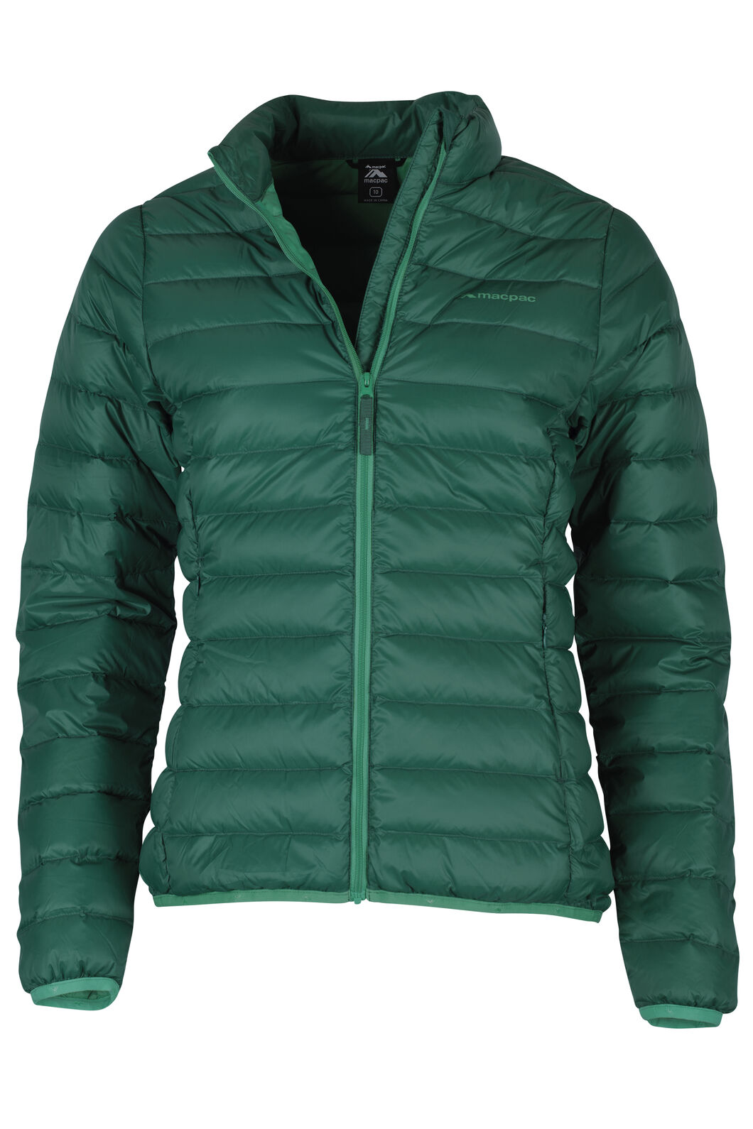 Macpac Uber Light Down Jacket - Women's, Teal, hi-res