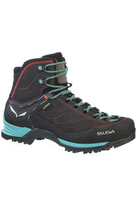 Salewa Mountain Trainer Mid GTX - Women's, Magnet/Viridian Green, hi-res