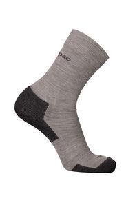Macpac Merino Blend Footprint Socks, Grey Marle, hi-res