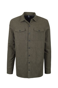 Macpac Lyndon Fleece Lined Shirt — Men's, Military Olive, hi-res