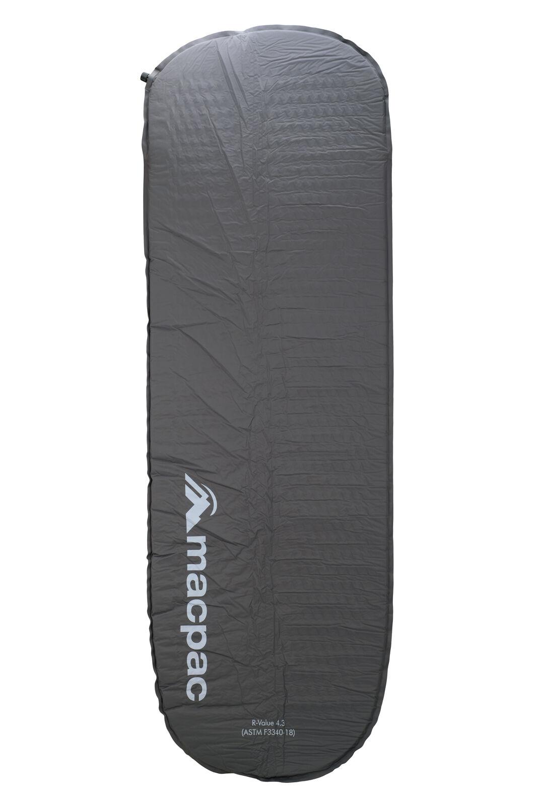 Macpac Self-Inflating Sleeping Mat — 5 cm, Forged Iron, hi-res