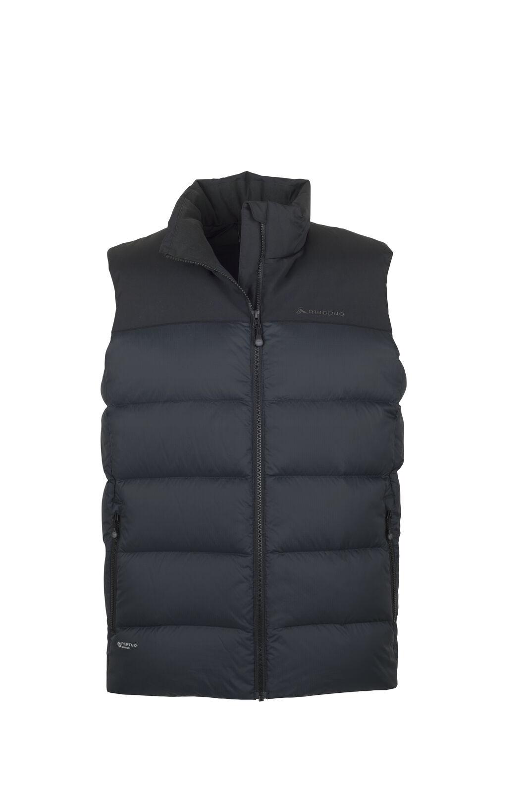 Macpac Ember Down Vest — Men's, Black, hi-res