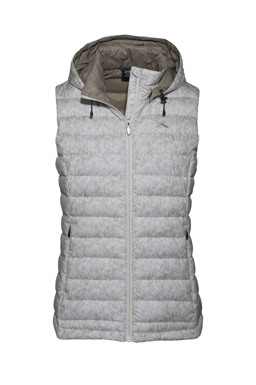 Macpac Zodiac Hooded Down Vest — Women's, Moonbeam, hi-res