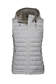 Macpac Zodiac Hooded Down Vest — Women's, Moonbeam, hi-res