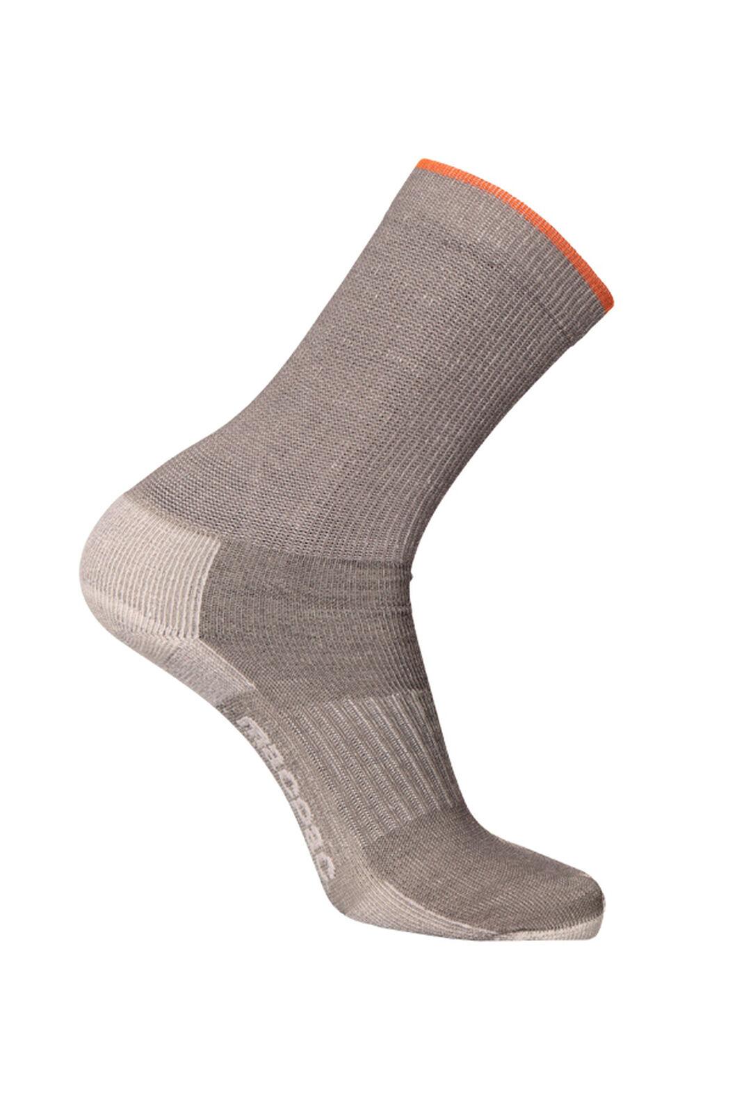 Macpac Light Hiker Socks, Anthracite, hi-res