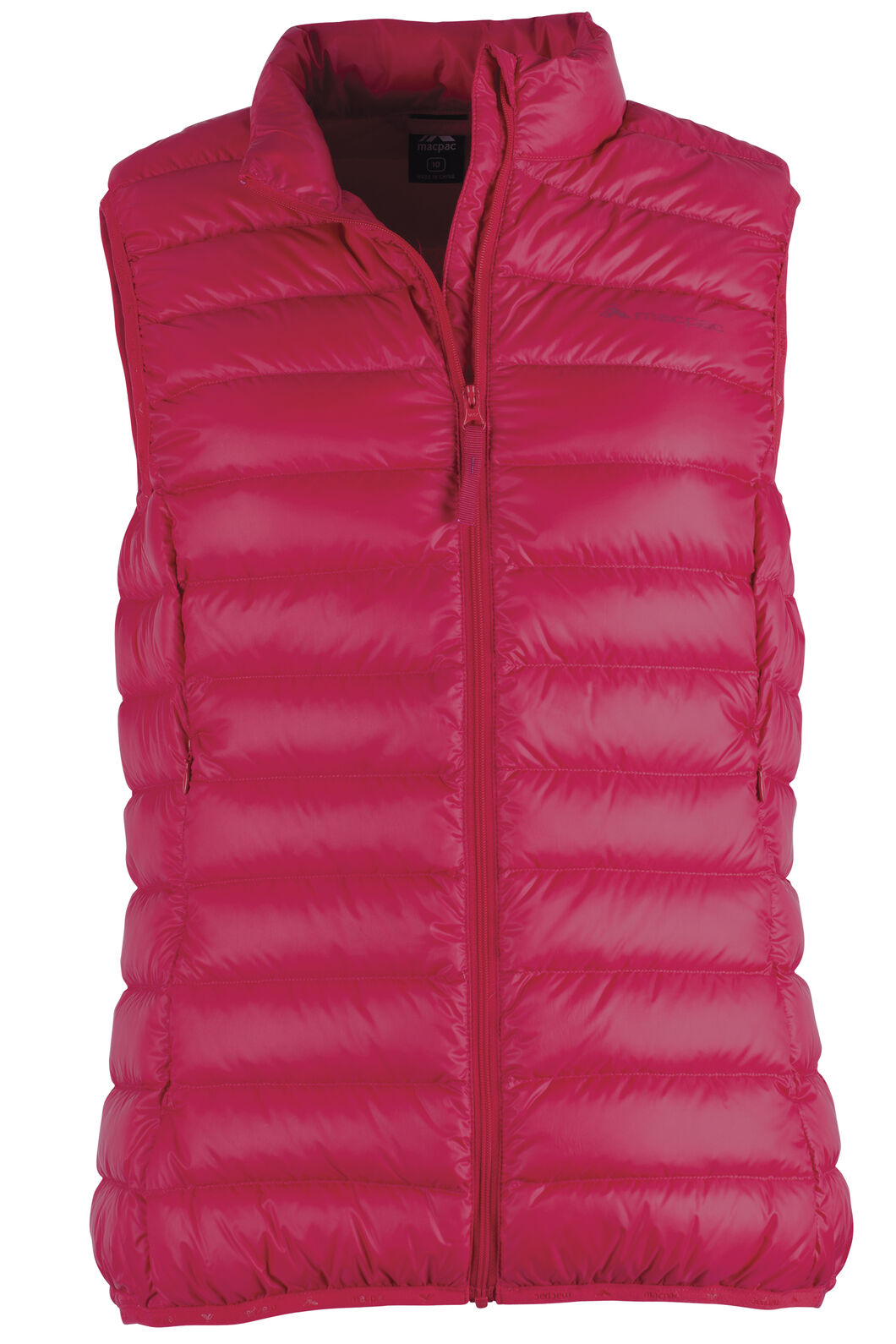 Macpac Uber Light Down Vest - Women's, Crimson, hi-res
