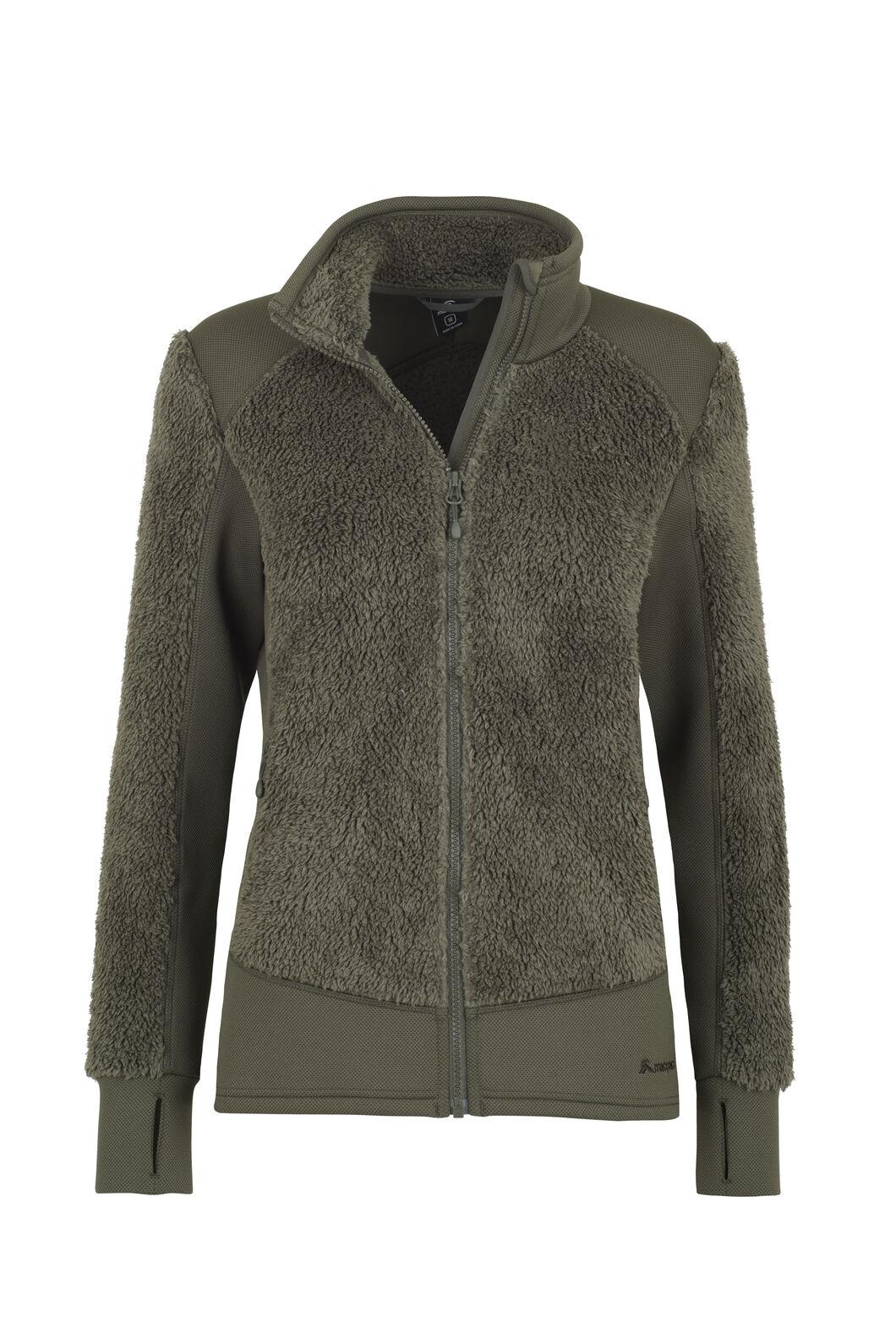 Macpac Haast Sherpa Fleece - Women's, Peat, hi-res