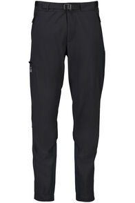 Macpac Fitzroy Alpine Series Softshell Pants — Men's, Black, hi-res