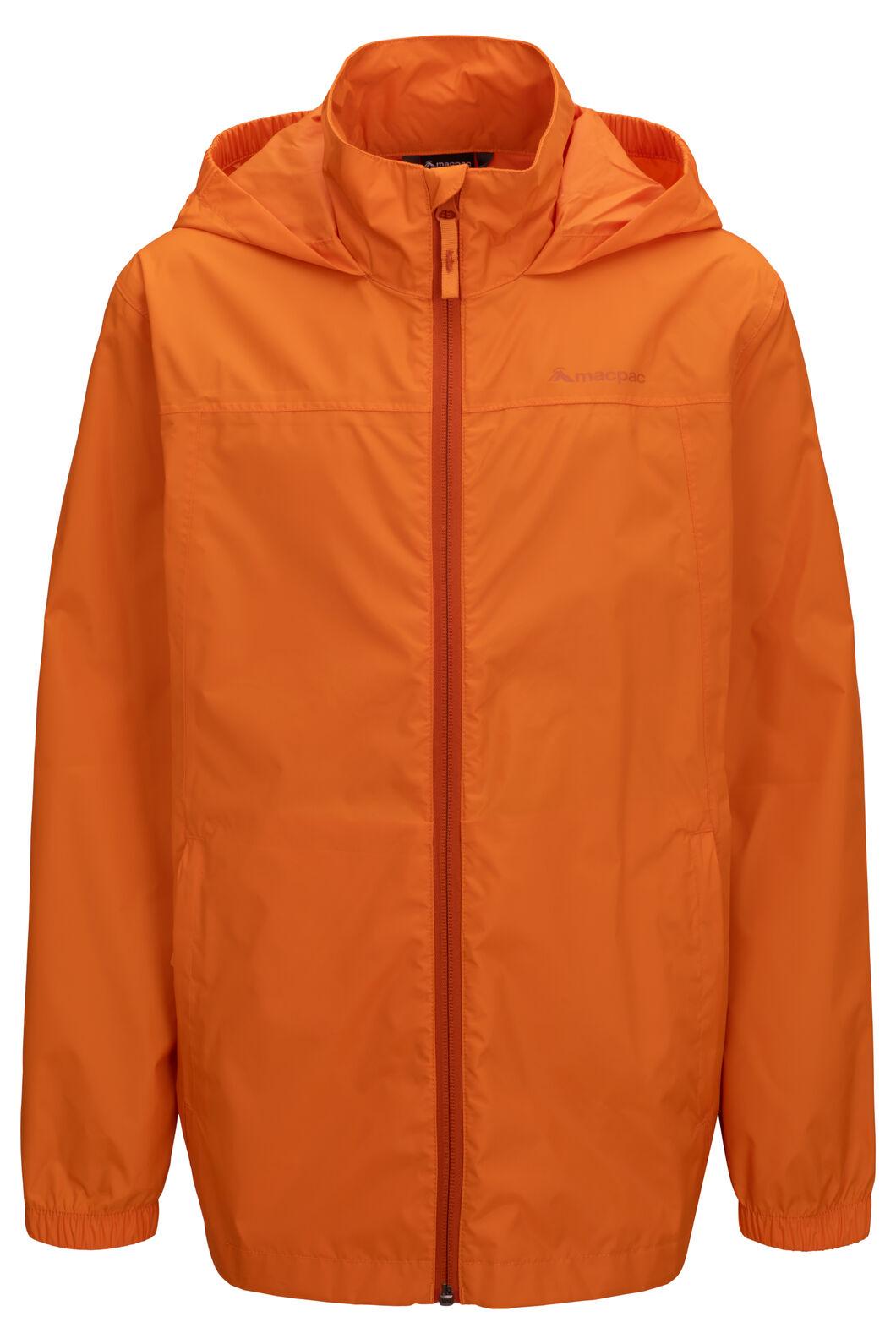 Macpac Pack-It-Jacket — Kids', Russet Orange, hi-res