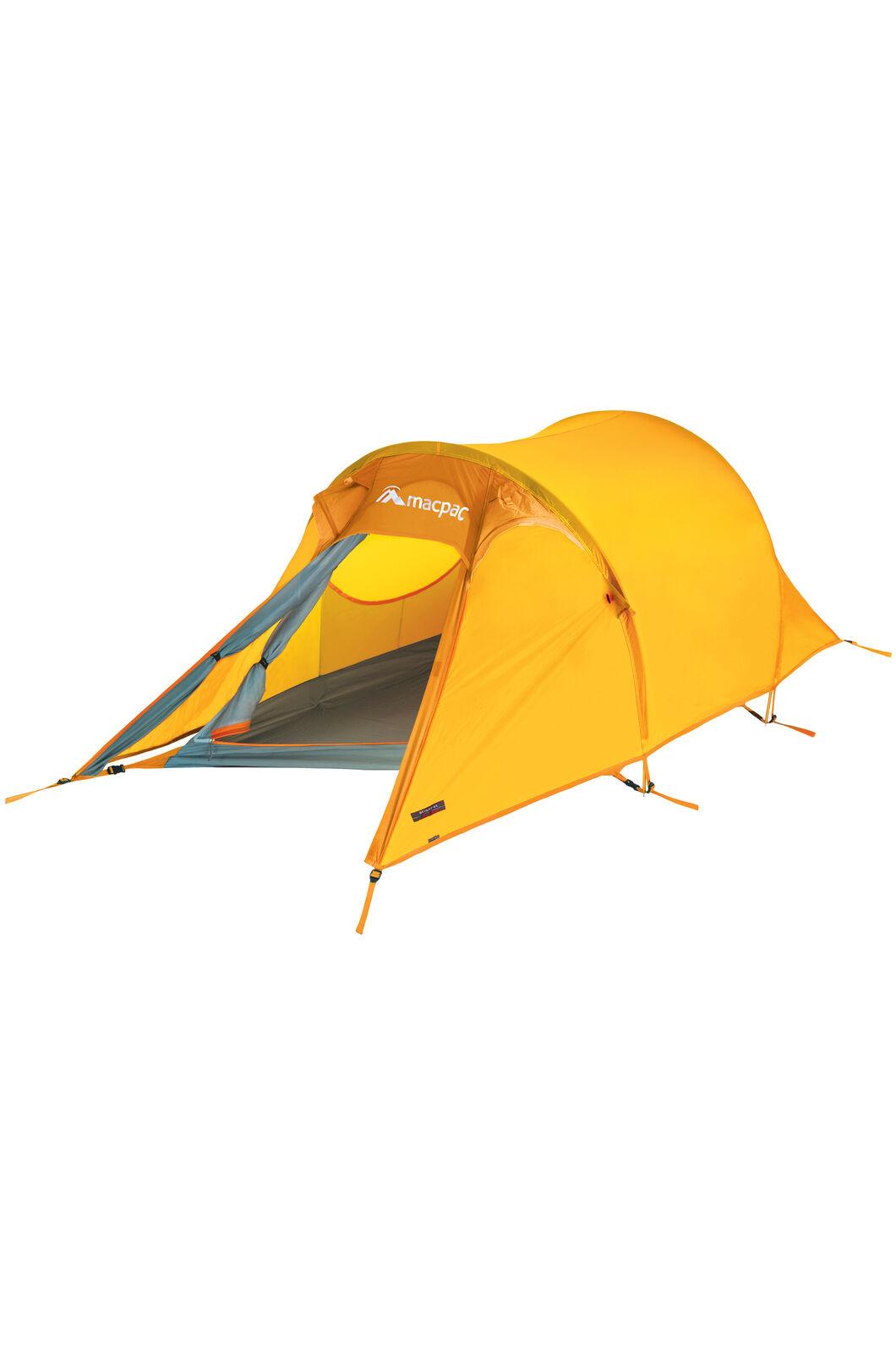 Macpac Minaret Hiking Tent, Spectra Yellow, hi-res