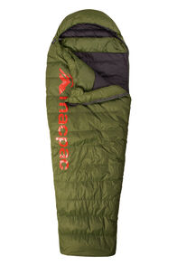 Macpac Overland Down 400 Sleeping Bag — Women's, Chive, hi-res