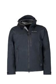 Macpac Lightweight Prophet Pertex® Rain Jacket — Men's, Black/Black, hi-res