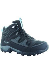 Hi-Tec Women's Bryce II Hiking Boots Forgetmenot, Black/Charcoal/Forget Me Not, hi-res