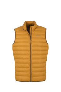 Macpac Uber Light Down Vest - Men's, Golden Yellow, hi-res