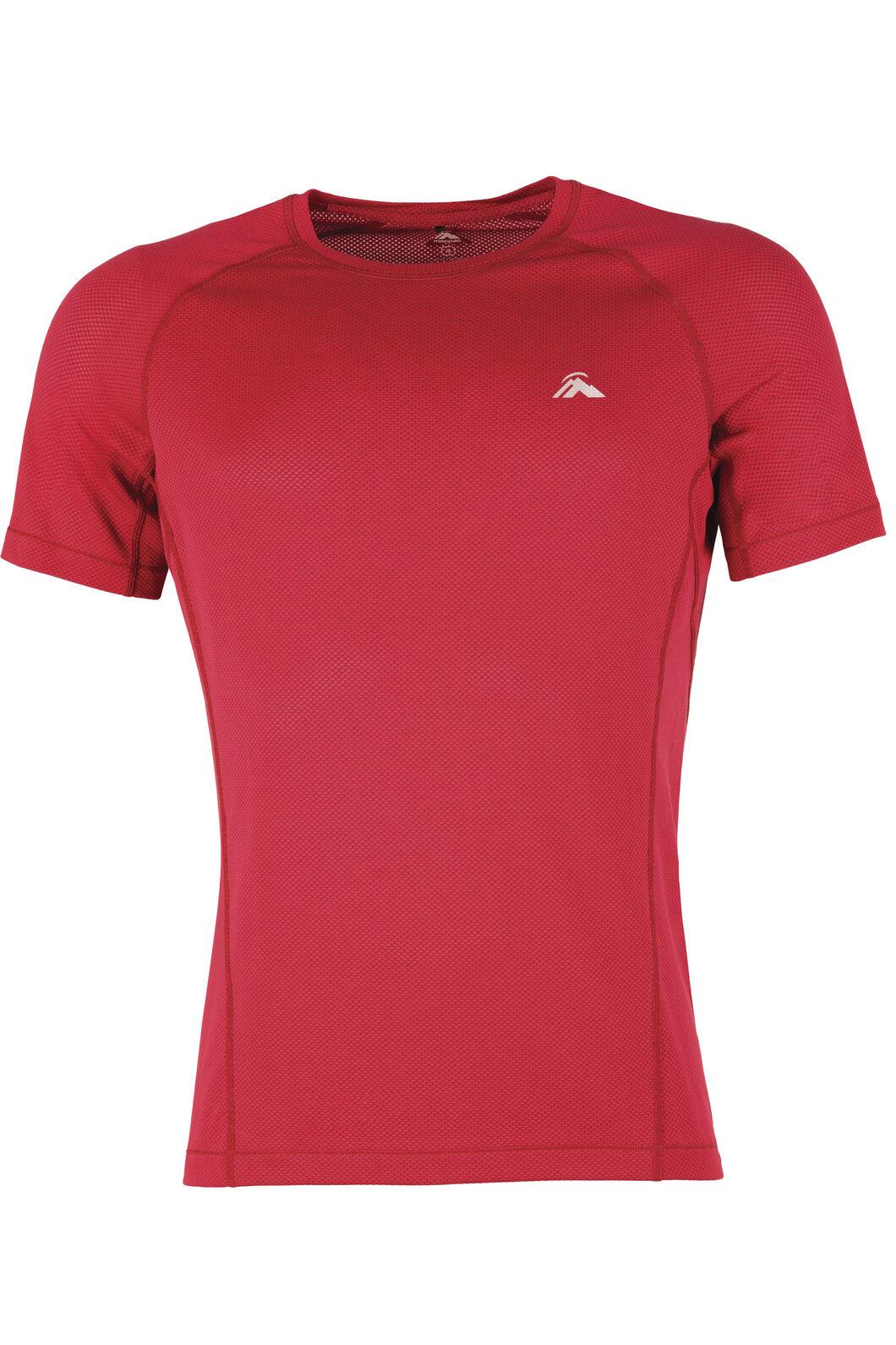 Macpac Litespeed Polartec® Delta™ Short Sleeve Shirt - Men's, Flame Scarlet, hi-res