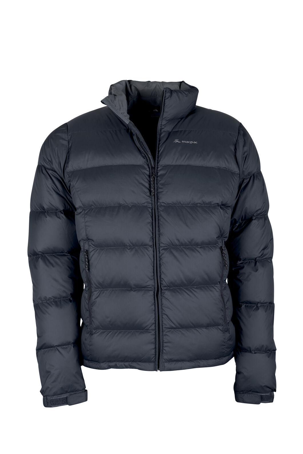 Macpac Halo Down Jacket - Men's, Black, hi-res