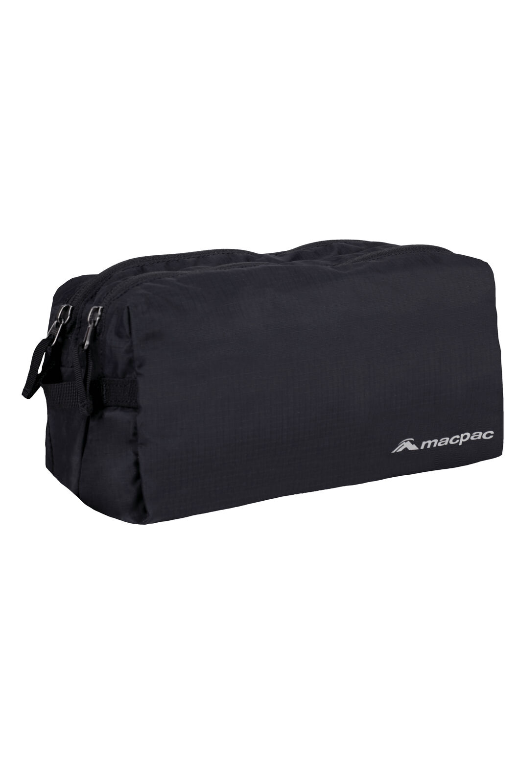 Macpac Double or Nothing Washbag, Black, hi-res