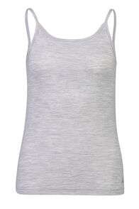 150 Merino Camisole - Women's, Light Grey Marle, hi-res
