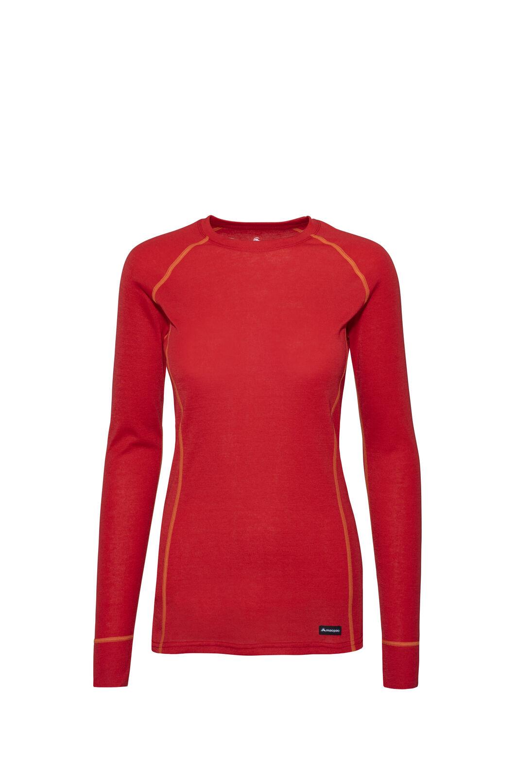 Macpac Geothermal Long Sleeve Top — Women's, Lollipop, hi-res