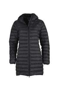 Macpac Uber Light Down Coat - Women's, Black, hi-res