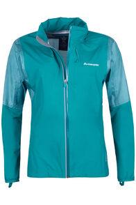 Macpac Transition Pertex® Shield Rain Jacket - Women's, Teal, hi-res