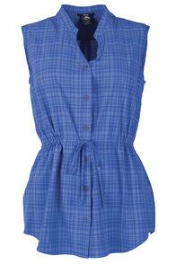 Macpac Travel Lite Sleeveless Shirt - Women's, Monaco, hi-res