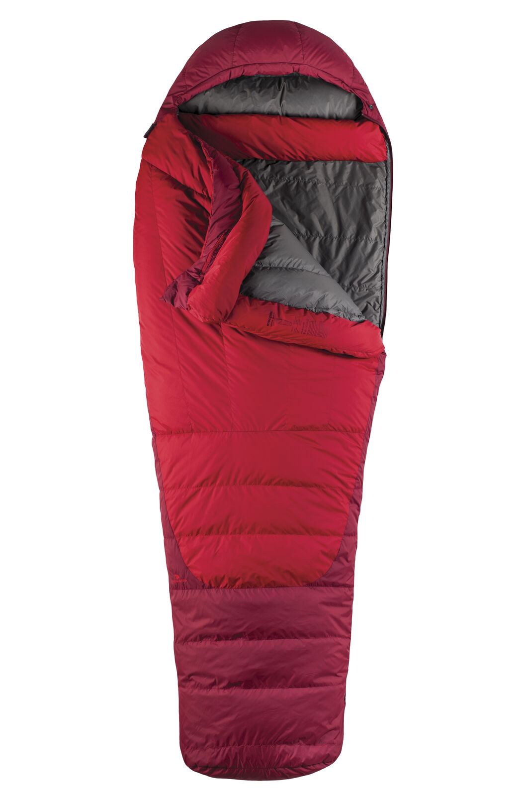 Macpac Latitude XP Goose Down 500 Sleeping Bag - Standard, Chilli, hi-res